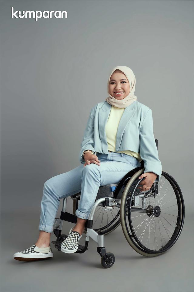 Cerita Laninka Siamiyono Soal Persepsi Orang Terhadap Penyandang Disabilitas (1145614)