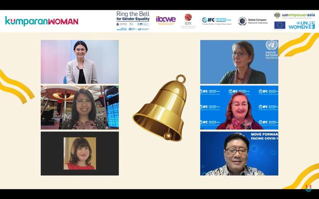 Ring the Bell 2021: Soroti Peran Perempuan di Sektor Bisnis saat Pandemi (130950)