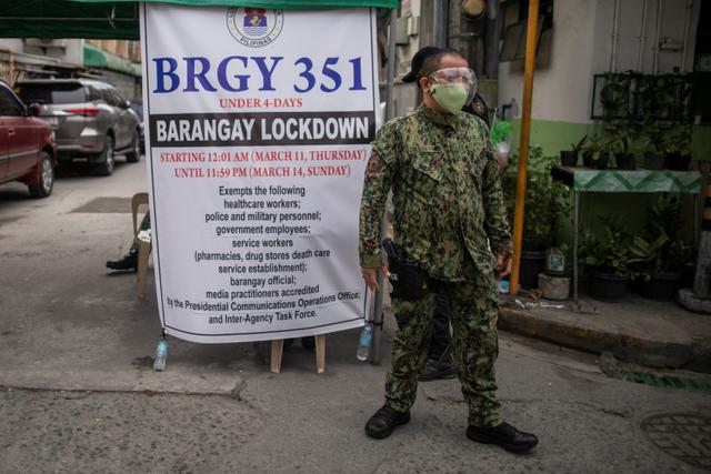 Tekan Penyebaran Varian Delta, Duterte Lockdown Manila (68058)