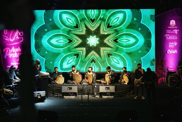 Foto: Festival Perkusi Aceh di Taman Budaya (406527)