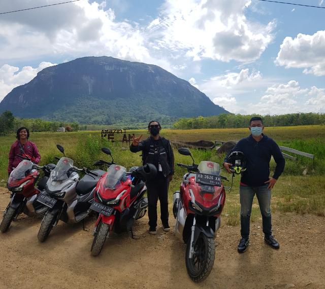 Ekspedisi Borneo: 4 Jurnalis Kunjungi Heart Of Borneo dengan Honda ADV 150 (2252)