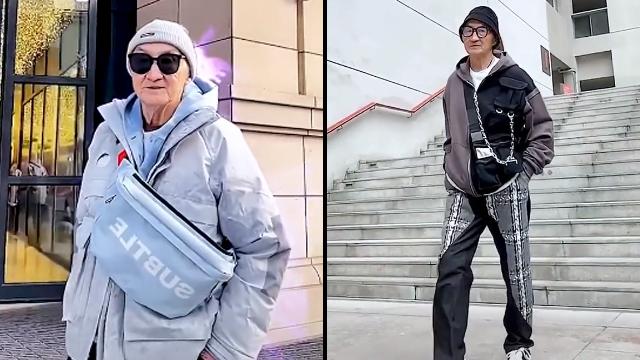 Gaya Trendi Kakek Berusia 83 Tahun, Tetap Nyentrik Meski Sudah Lansia (597559)