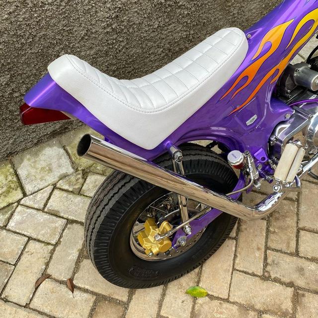 Rombak Replika Motor Mungil Honda Dax Jadi Chopper (369054)