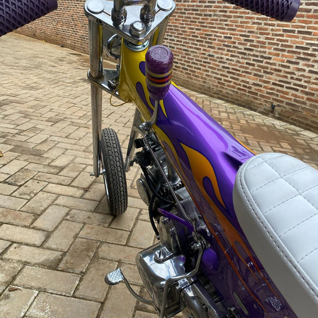 Rombak Replika Motor Mungil Honda Dax Jadi Chopper (369056)