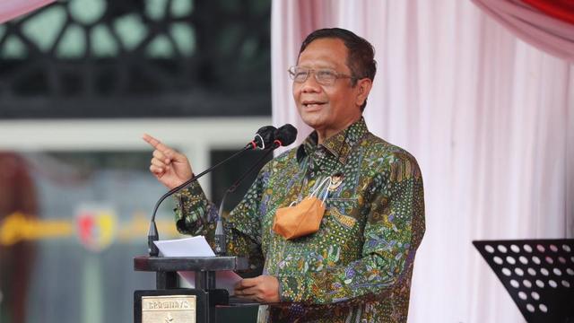Mahfud MD Bertemu Pimpinan KPK, Minta Dokumen Terkait Kasus BLBI (181058)