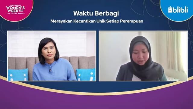 Laninka Berbagi Tips Percaya Diri dalam Talk Series Episode 2 Women's Week 2021 (433402)