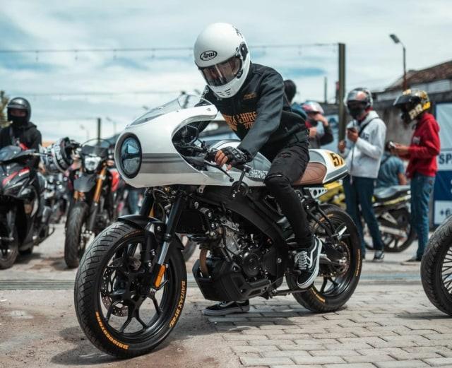 Berita Menarik: Modifikasi Yamaha XSR 155; Kemenperin Godok Insentif Motor (88188)