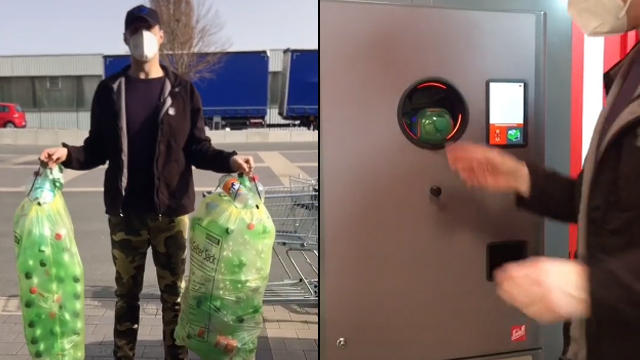 Canggih, Alat Ini Bikin Belanja di Supermarket Bisa Bayar Pakai Botol Bekas (281238)