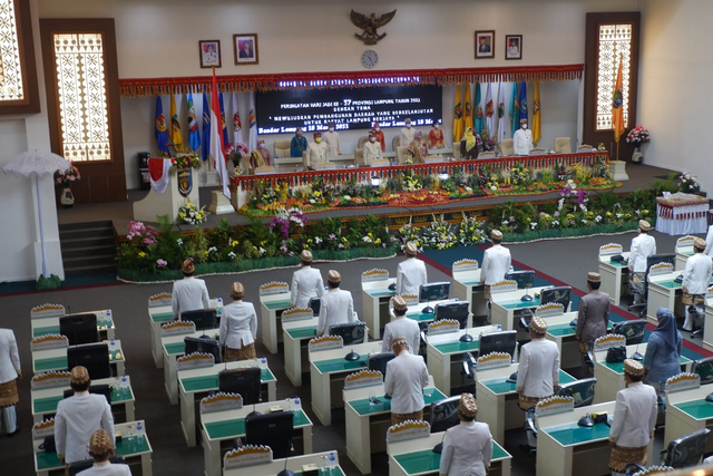 HUT Lampung ke-57, Gubernur Minta Sinergi Semua Pihak dalam Pemulihan Ekonomi (128830)