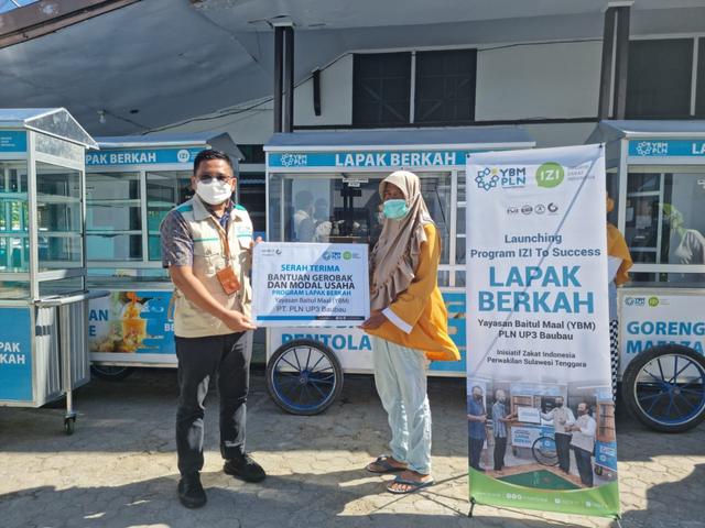 Bantu UMKM Saat Pandemi, YBM PLN UP3 Bau-bau Kolaborasi IZI Sultra (211575)