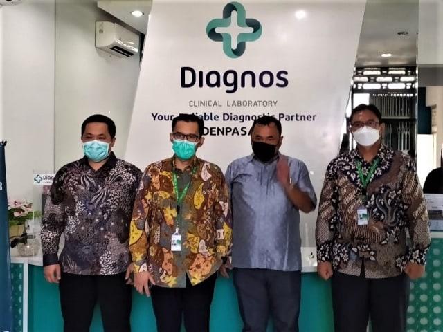 Bantu Percepatan Penanganan COVID-19, Diagnos Laboratorium Hadir di Denpasar (1123672)