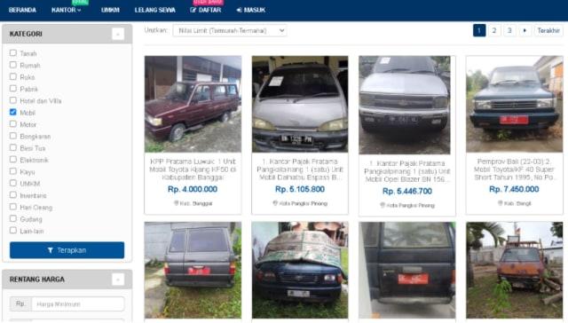 3 Mobil Rp 5 Jutaan di Balai Lelang Negara, Ada SUV Amerika! (178142)