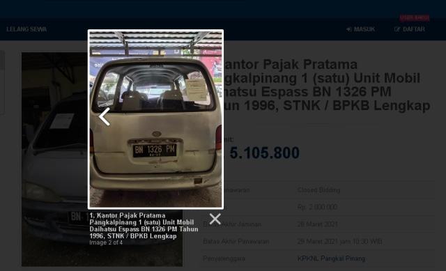 3 Mobil Rp 5 Jutaan di Balai Lelang Negara, Ada SUV Amerika! (178144)