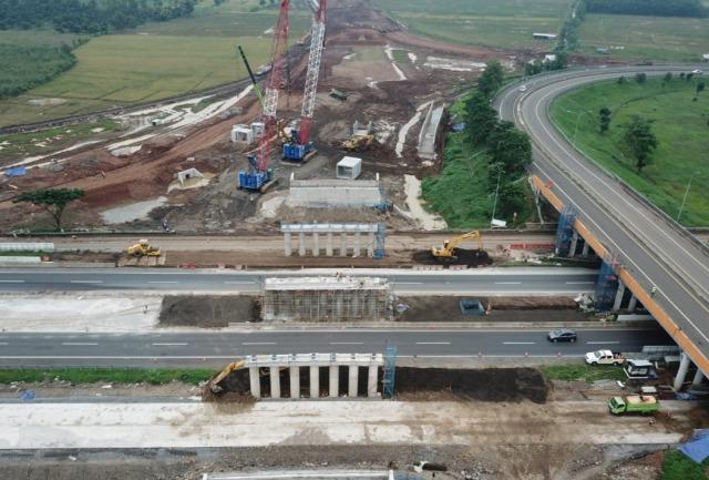 Pembangunan Akses Jalan Tol Bandara Kertajati Majalengka Capai 60 Persen (252726)