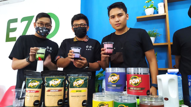 Pow Drink Powder, Alternatif Baru Bubuk Minuman Kekinian di Malang (132846)