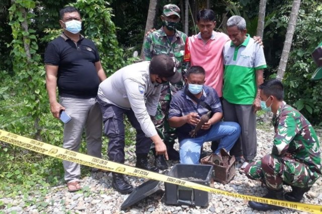 Bom Mortir Aktif Buatan Pindad Ditemukan di Aceh (289512)