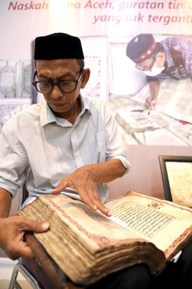 Foto: Menyelamatkan Manuskrip Kuno Aceh, Harta Warisan Tak Ternilai Abad ke-16 (352891)