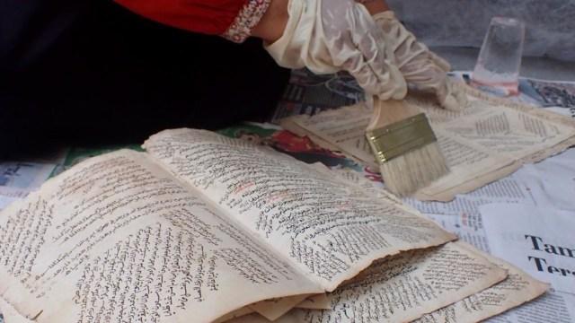 Foto: Menyelamatkan Manuskrip Kuno Aceh, Harta Warisan Tak Ternilai Abad ke-16 (352893)