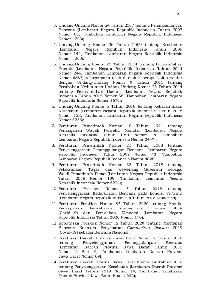 Ridwan Kamil Perpanjang PSBB Proporsional se-Jabar hingga 5 April (3252)