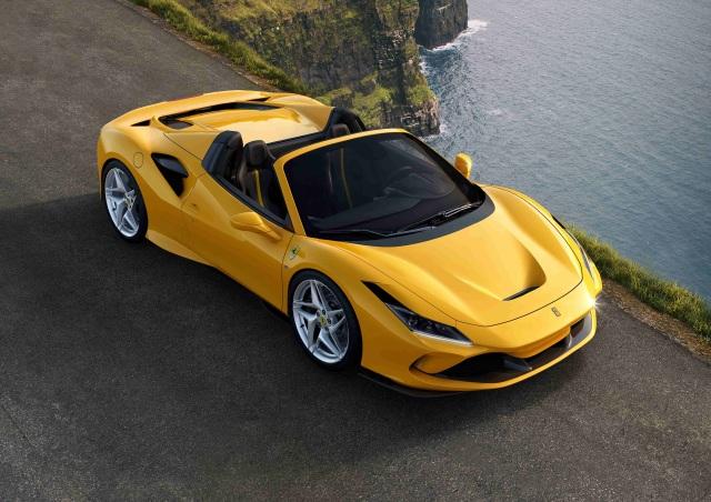 Ferrari F8 Spider Resmi Meluncur di Indonesia, Tenaganya Sampai 720dk (214720)