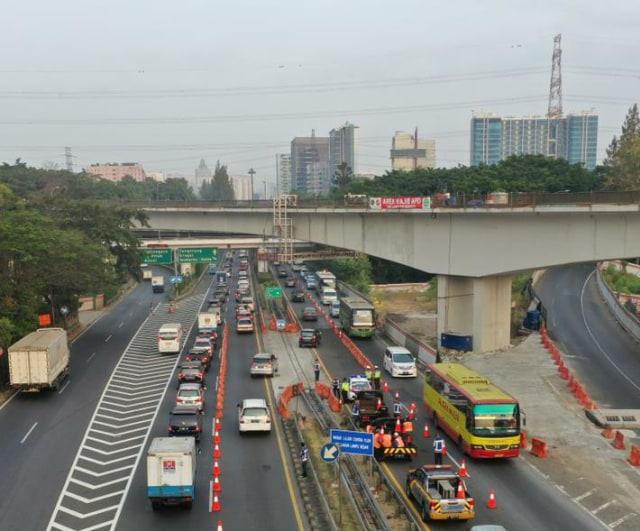 Catat, Ada Perubahan Skema Contraflow di Tol Dalam Kota, Ini Penjelasannya (683516)
