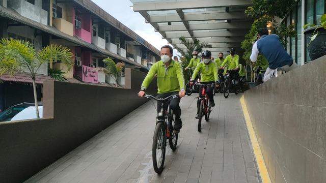 Bima Arya Bersepeda di Pontianak, Puji Kesegaran Udara Kota Khatulistiwa (209919)