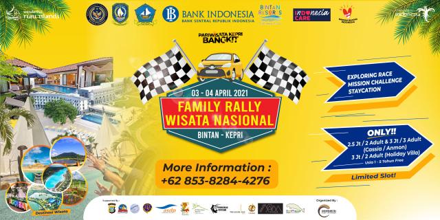 Acara 'Family Rally Wisata Nasional' di Bintan, Bakal Kunjungi Banyak Destinasi (200510)