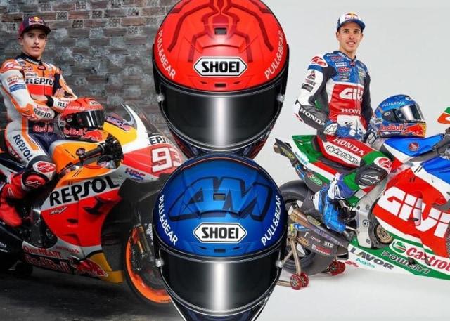 Helm Replika Duo Marquez Masuk Indonesia, Harga Setara Motor Sport 150 Cc Bekas! (210553)