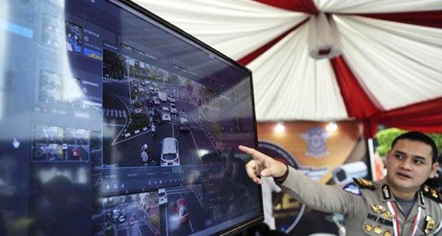 Sistem Tilang Elektronik ETLE Pakai CCTV Belum Diberlakukan di Sukabumi (1080087)