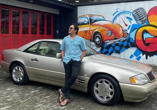 Intip Koleksi Mobil Tua Andre Taulany, Ada yang Harganya Rp 1 Miliar (380316)