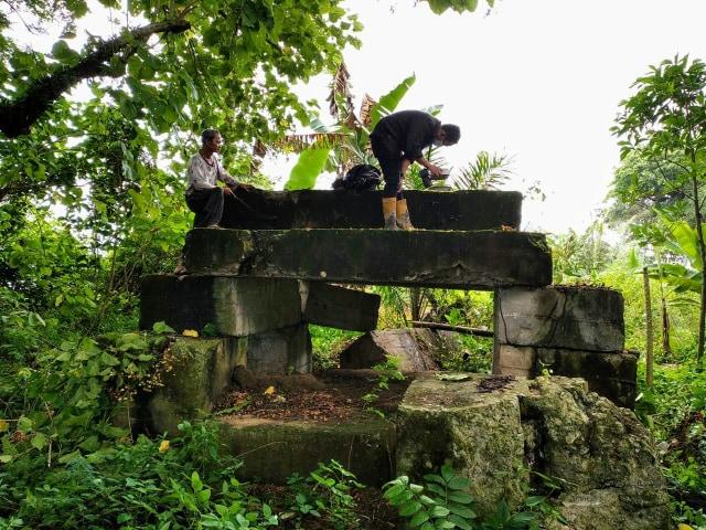 Arkeolog Temukan Bungker Jepang di Pulau Kemaro Palembang (161410)