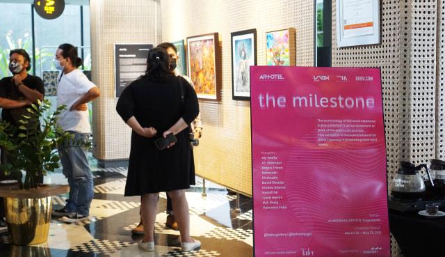 Jadi Kolaborasi Seni Terbesar 2021, ARTOTEL Gelar Pameran 'The Milestone' (70156)