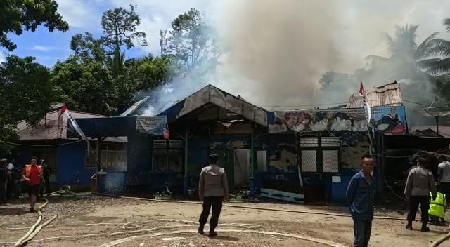 Kebakaran Kantor PDAM Bengkayang: Diduga Akibat Korsleting Listrik (82618)