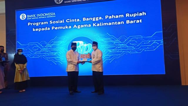 Bank Indonesia Perwakilan Kalbar Gandeng Tokoh Agama Kampanye 'Cinta Rupiah' (266326)