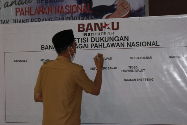 Orang Muda di Jailolo Terus Perjuangkan Kapita Banau Sebagai Pahlawan Nasional (418507)