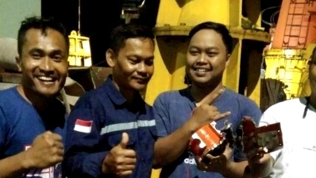 Alvin Lie Puji KNKT Temukan CVR Sriwijaya Air: Hebat Temukan Modul di Dasar Laut (313981)