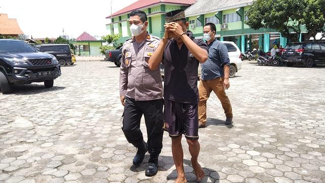 Seminggu di RSJ, Ini Kondisi Pria Pembunuh Ayah Kandung di Lampung Tengah (51374)