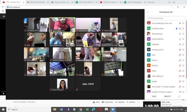 Cara Cikal Surabaya Menjaga Kebugaran Siswa Saat Sekolah Online (4062)