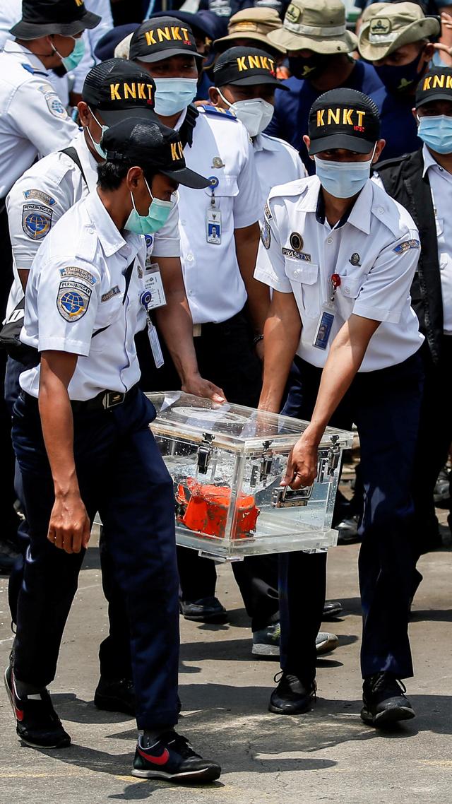 Foto: CVR Sriwijaya Air SJ 182 Ditemukan (67306)
