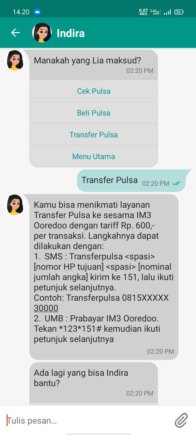 Cara Transfer Pulsa Indosat Lewat Sms Dan Ussd Kumparan Com