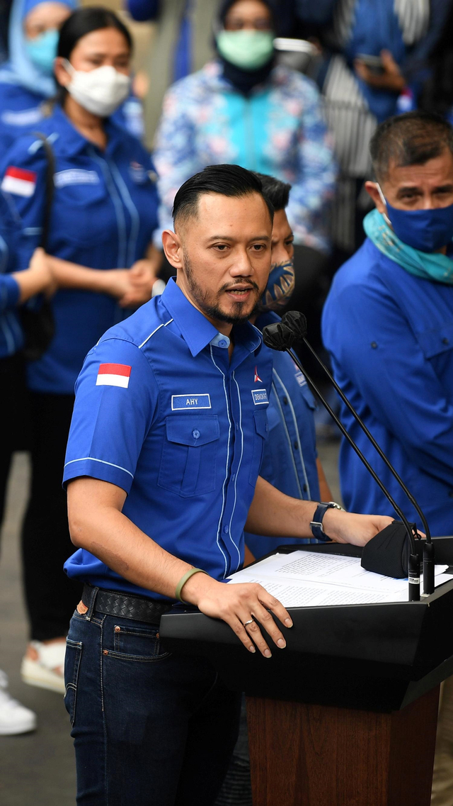 AHY: Buat Kegaduhan, KLB Moeldoko Seharusnya Minta Maaf ke Presiden Jokowi (471559)