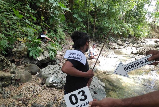 Polisi Gelar Prarekonstruksi Pembunuhan di Hutan Halmahera (819928)