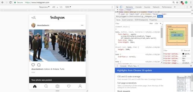 Cara Posting Foto Instagram Lewat PC dan Laptop (240071)