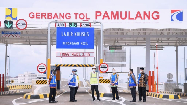Tol JORR II Sudah Diresmikan Jokowi, Berapa Tarif ke Bandara Soekarno-Hatta? (390122)