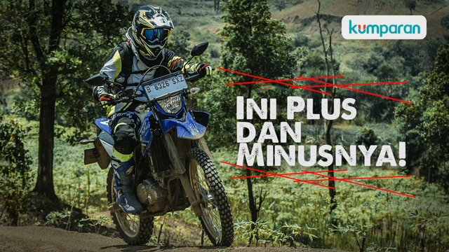 Video: Plus Minus Yamaha WR 155 R di Trek Off-road dan On-road (35740)