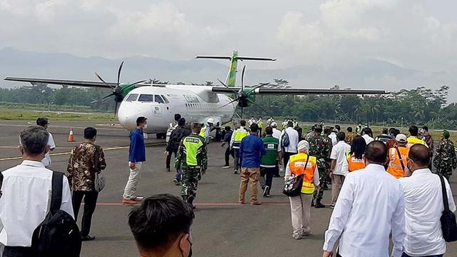 Terminal Penumpang Gunakan Tenda, Bandara Purbalingga Diklaim Siap Operasi Juni  (250863)