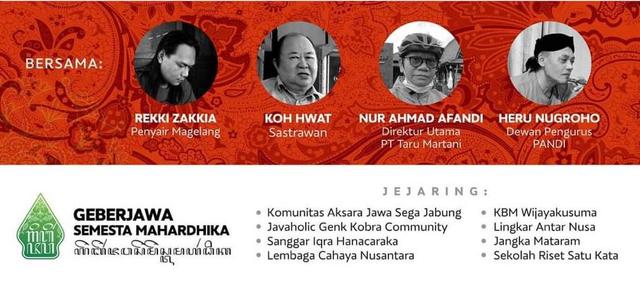 Resolusi Jombor Minta DPR Terbitkan Undang-undang tentang Aksara Nusantara (2212)