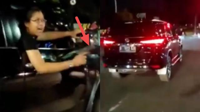 Viral Pengemudi Mobil Marah-Marah hingga Acungkan Pistol Usai Tabrak Pemotor (4644)