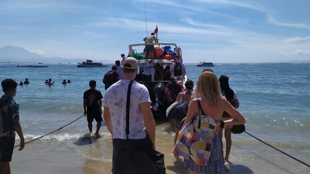 Long Weekend, Wisatawan Ke Nusa Penida Lewat Sanur Meningkat (75249)