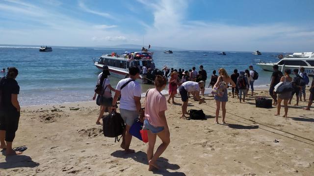Long Weekend, Wisatawan Ke Nusa Penida Lewat Sanur Meningkat (75250)
